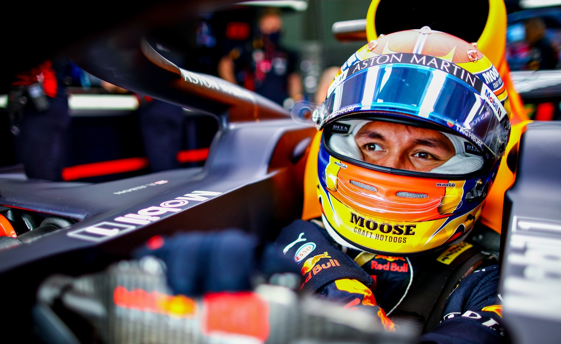 Albon to drive the Ferrari 488 GT3 in the Red Bull DTM ...